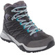 The North Face Hedgehog Hike II Mid GTX Shoes Women Q-Silver Grey/Porcelain Green